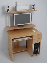Компьютерный стол С830 - ольха