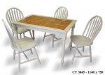 Стол СТ3045 и стулья Winzor