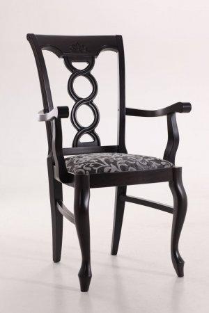 Деревянный стул Валенсия с подлокотниками