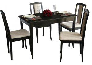 Комплект Джулия (стол+4 стула)