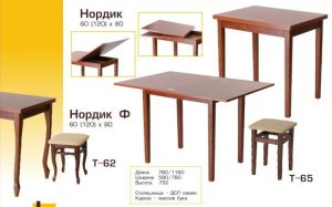 Кухонный стол Нордик