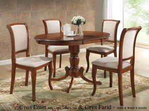 Стол Emin и стулья Farid
