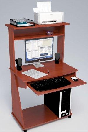 Компьютерные столы С-555 с надстройкой 827