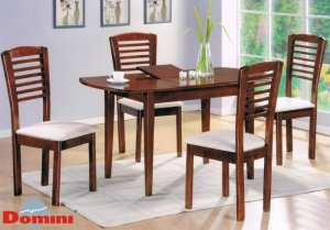 Комплект Стол Герда + 4 стула Бруно