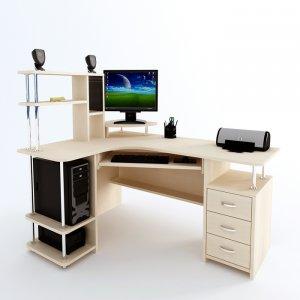 Угловой компьютерный стол С 224