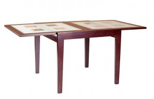 Раскладной стол Сандра (стекло)