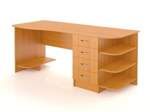 Большой компьютерный стол 2-SKO