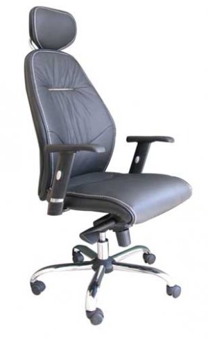 Офисное кресло кожаное YD-732