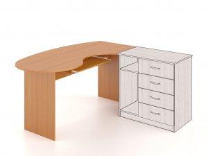 Компьютерный стол СУ-202