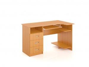 Вместительный компактный компьютерный стол Континент