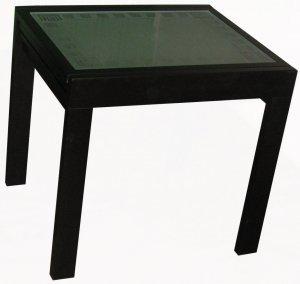 Раскладной стеклянный стол Чибис
